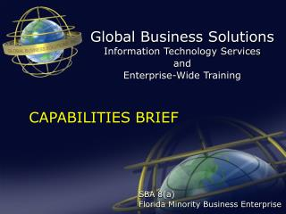 SBA 8(a) Florida Minority Business Enterprise