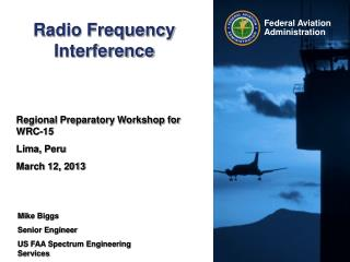 Radio Frequency Interference