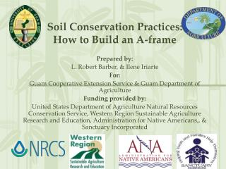 Soil Conservation Practices: How to Build an A-frame