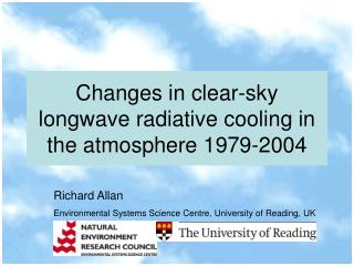 Changes in clear-sky longwave radiative cooling in the atmosphere 1979-2004