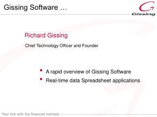 Richard Gissing