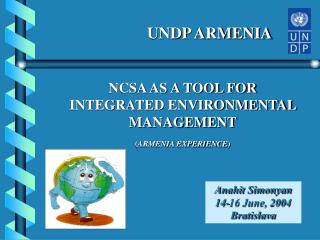 NCSA AS A TOOL FOR  INTEGRATED ENVIRONMENTAL MANAGEMENT ( ARMENIA EXPERIENCE )