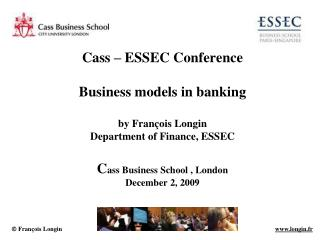 Business models in banking