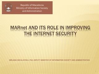 MAR net  and its role in improving the Internet security