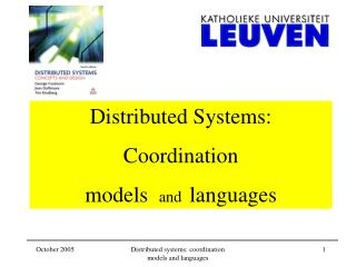 Distributed Systems:  Coordination  models   and   languages