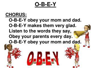 O-B-E-Y