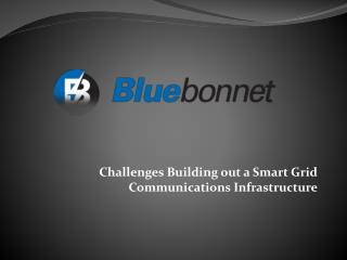 Challenges Building out a Smart Grid Communications Infrastructure