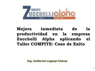 Ing. Guillermo Legaspi Chávez