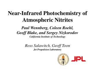 Stratospheric Ozone Photochemistry
