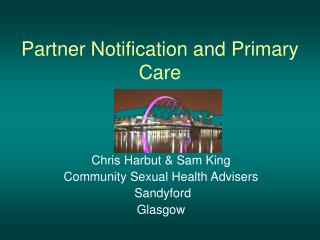 Partner Notification and Primary Care