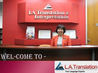Korean legal translation services�