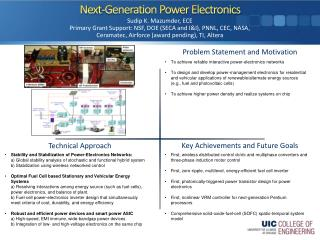 Next-Generation Power Electronics