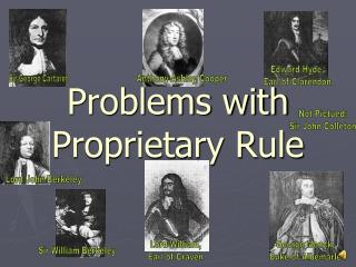 Problems with Proprietary Rule