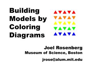 Building Models by Coloring Diagrams