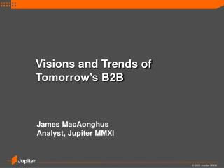 Visions and Trends of Tomorrow's B2B