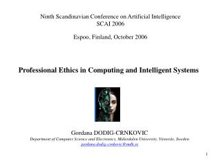Professional Ethics in Computing and Intelligent Systems