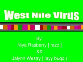 By: Niya Rasberry [ razz ] && Jalynn Westry [ jayy buqq )