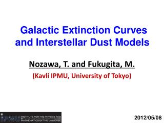 Galactic Extinction Curves and Interstellar Dust Models