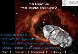 Star Formation  from Herschel deep surveys