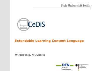 Extendable Learning Content Language