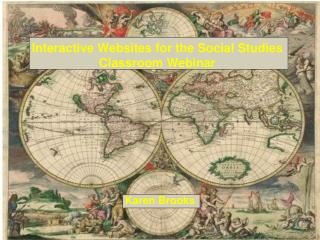 Interactive Websites for the Social Studies Classroom Webinar
