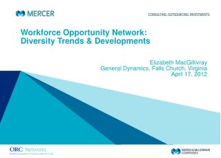 Workforce Opportunity Network: Diversity Trends & Developments
