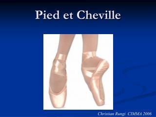 Pied et Cheville
