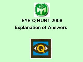 EYE-Q HUNT 2008