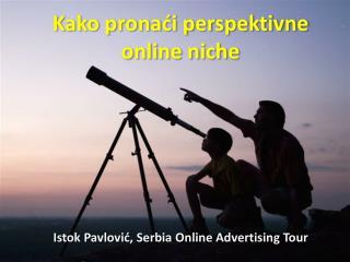 Kako prona?i perspektivne online niche