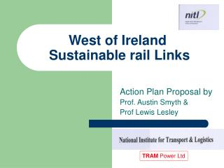 West of Ireland  Sustainable rail Links