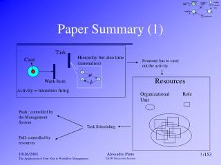 Paper Summary (1)