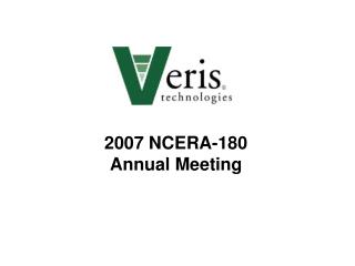 2007 NCERA-180  Annual Meeting
