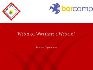 Web 2.0.. Was there a Web 1.0?