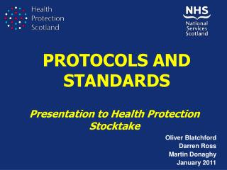 PROTOCOLS AND STANDARDS