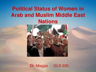 Political Status of Women in Arab and Muslim Middle East Nations
