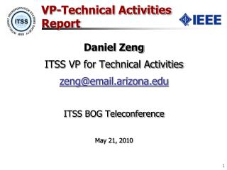 VP-Technical Activities Report