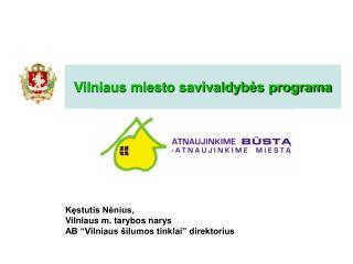 Vilniaus miesto savivaldybės programa