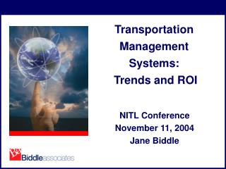 Transportation Management Systems:  Trends and ROI