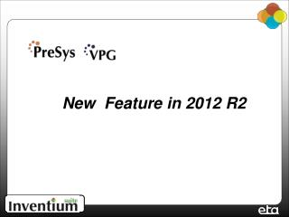 New  Feature in 2012 R2