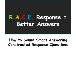 Open-Response Strategies