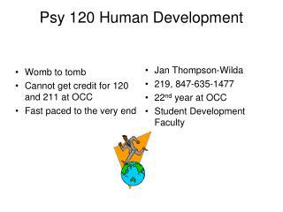 Psy 120 Human Development