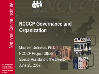NCCCP Governance and Organization