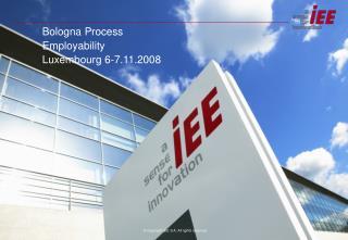 Bologna Process Employability Luxembourg 6-7.11.2008