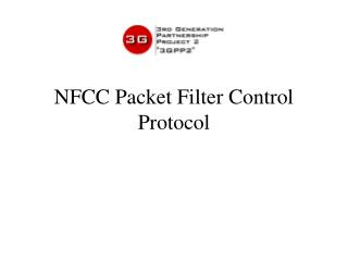 NFCC Packet Filter Control Protocol