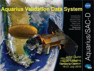 Aquarius Validation Data System