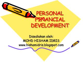 PERSONAL FINANCIAL DEVELOPMENT