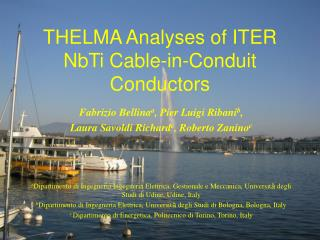 THELMA Analyses of ITER NbTi Cable-in-Conduit Conductors