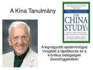 A Kína  T anulmány