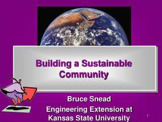 Building a Sustainable Community