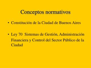 Conceptos normativos